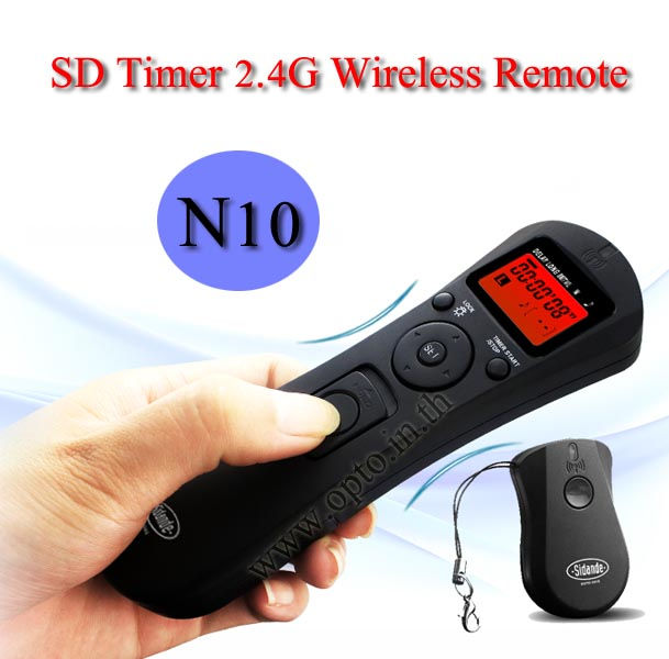 SD Wireless Timer Remote Time Lapse N10 For Nikon D90/D3300/D5500/D7200/D610/Df
