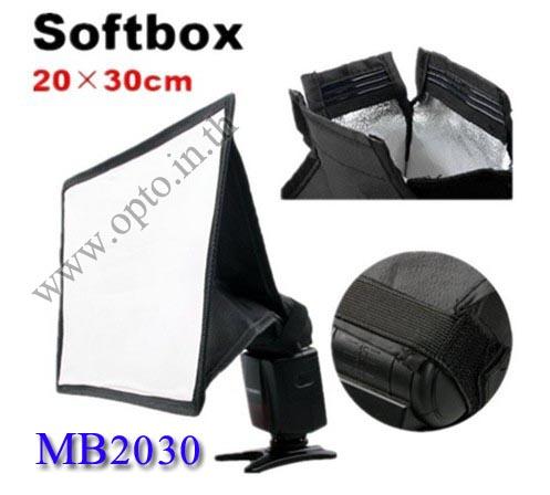 MB2030 MiniBox Portable softbox for Speedlite(Universal type) 20*30cm