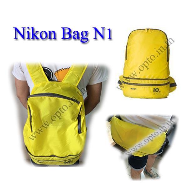 Nikon N1 DSLR Camera Bag Gift กระเป๋าใส่ของนิคอน เป็นกระเป๋าคาดเอวและเป้สะพายหลังจุของได้เยอะ