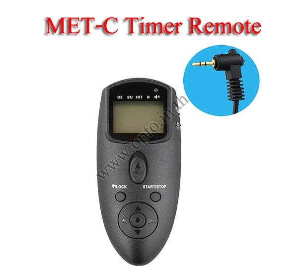 Met-C Multi-Exposure Timer Remote Control for CANON RS-60E3 70D 60D 500D 600D 700D รีโมทตั้งเวลาถ่าย