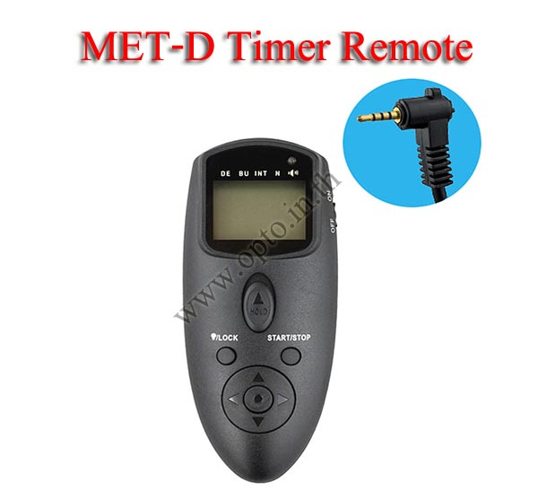 Met-D Multi-Exposure Timer Remote Control for PANASONIC DMW-RS1 GH4 GX7 GF1 FZ50 รีโมทตั้งเวลาถ่าย