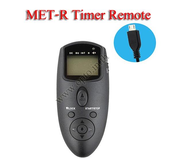 Met-R Multi-Exposure Timer Remote Control for FUJIFILM RR-90 X100 X-T10 X-A2 X-E2 รีโมทตั้งเวลาถ่าย