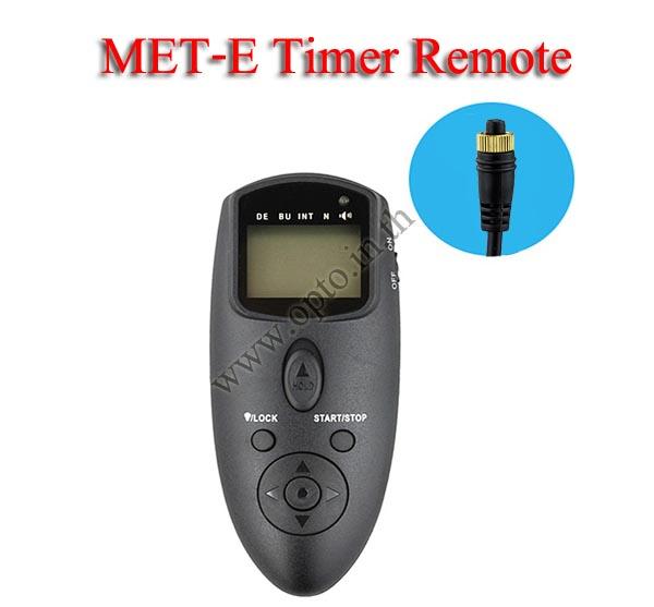 Met-E Multi-Exposure Timer Remote Control for OLYMPUS RM-CB1 E1 E10 E20 E5 E300 รีโมทตั้งเวลาถ่าย