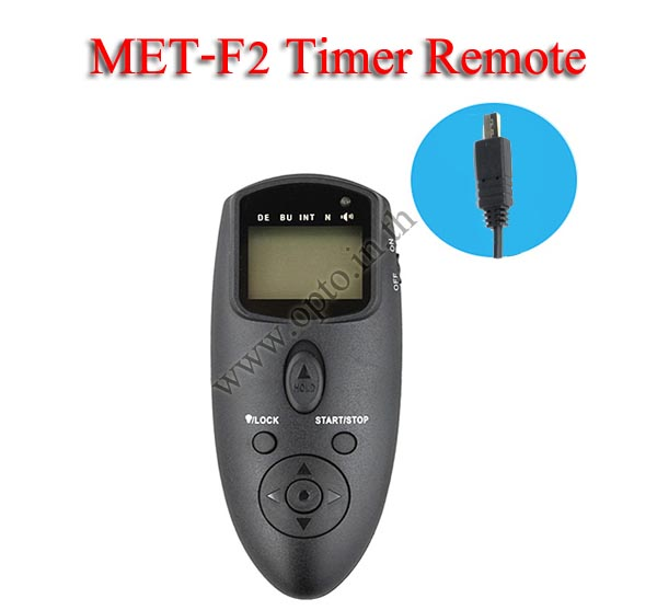 Met-F2 Multi-Exposure Timer Remote Control for SONY Multi Interface A7 RX100 A6000 รีโมทตั้งเวลาถ่าย
