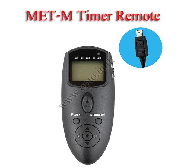 Met-M Multi-Exposure Timer Remote Control for NIKON MC-DC2 D750 D5500 D5300 D7200 รีโมทตั้งเวลาถ่าย