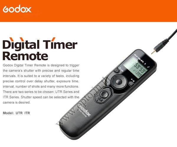 Godox Timer Remote Control MC-36 For Nikon N10 D600/D90/D7000/D5000/D3200