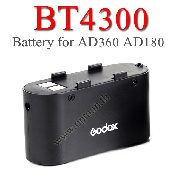 BT4500 Battery for BP960 Godox Flash WITSTRO AD180 AD360 แบตเตอรี่แพคโกดอก