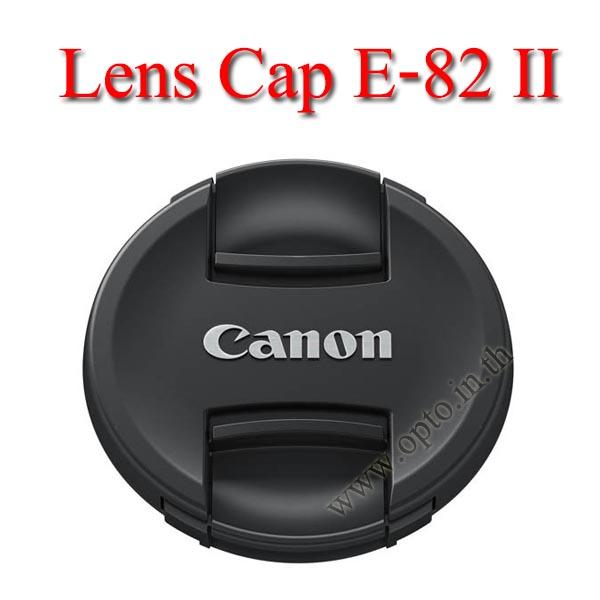E-82 II Lens Cap Canon Logo 82mm. ฝาปิดหน้าเลนส์แคนน่อน