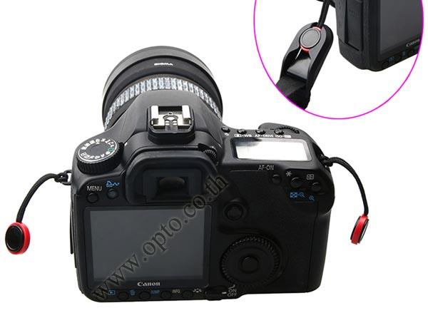 GP02 Joint Quick Neck Strap Sling for DSLR Mirrorless สายคล้องคอสำหรับกล้องแบบมีคลิ๊ปล็อคถอดสายได้ 3