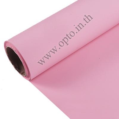 Pink Paper Background Backdrop 2.72x11m. ฉากกระดาษสีชมพู Seamless Paper