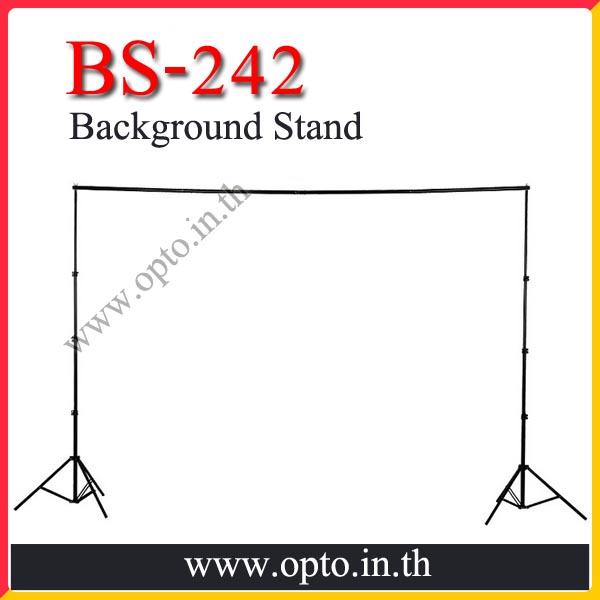 BS-242 Adjustable Background Stand Set Backdrop