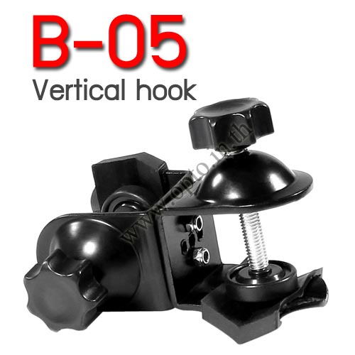 B-05 Vertical Clamp 13-38mm Photography Background Support Accessories