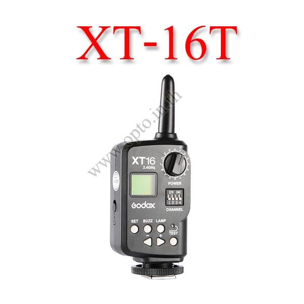 XT-16T Wireless 2.4Ghz Transmitter For Flash Godox QS QT Series DE300 AD360 แฟลชทริกเกอร์โกดอก