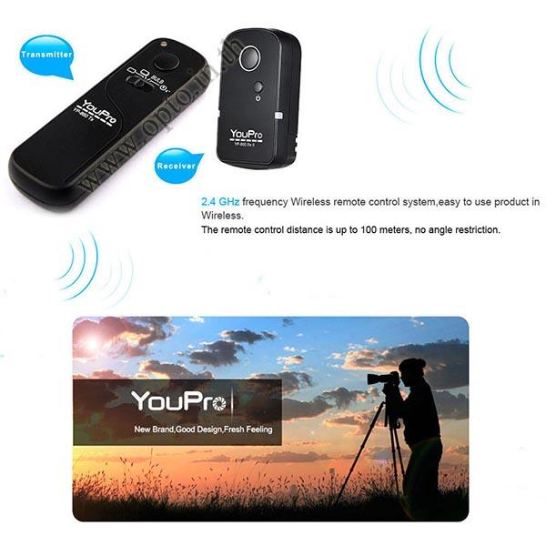 YP-860II YouPro DMY-RLS1 Wire/Wireless Remote 2.4GHz For Panasonic G7 G10 GX8 GH4 รีโมทไร้สาย 1