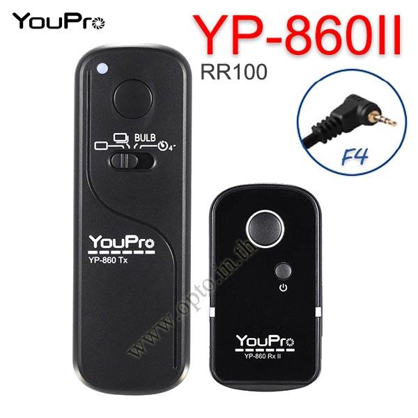YP-860II YouPro RR-100 Wire/Wireless Remote 2.4GHz For Fuji  X-T3 X-E3 X-H1 X-T100 X-T20 รีโมทไร้สาย