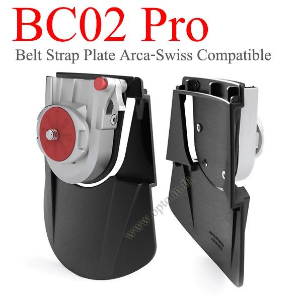 BC2 Pro Belt Quick Starp Camera Acra-Swiss for DSLR Mirrorless Canon Nikon Sony เข็มขัดห้อยกล้อง
