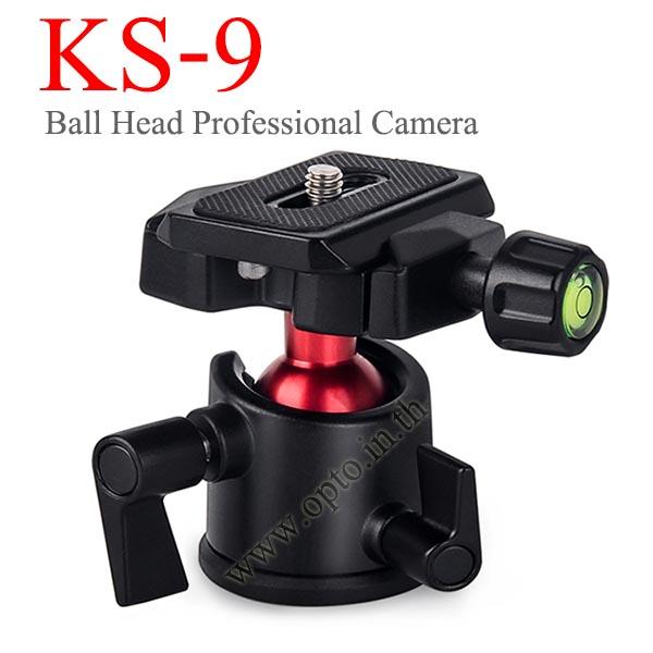 KS-9 Professional Camera Tripod Ballhead Ball Head