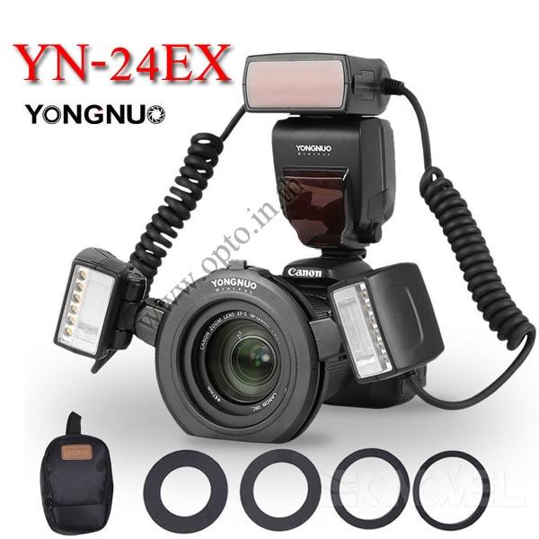 YN-24EX Twin TTL Macro Ring flash for Canon ริงแฟลชแบบออโต้2หัว