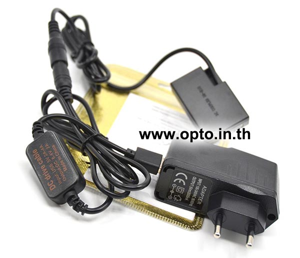 ACK-E17 USB+AC Adapter Battery LP-E17 for Canon Camera แบตเตอรี่แบบเสียบปลั๊กไฟหรือUSB