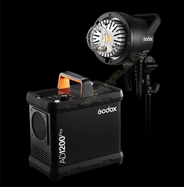 AD1200Pro Godox HSS Sync Wireless Flash Portable+Battery TTL AD1200 แฟลชพกพามีแบตเตอรี่ 1