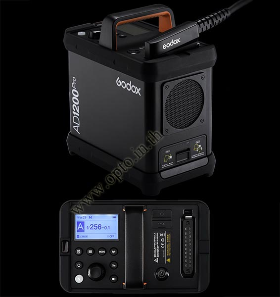 AD1200Pro Godox HSS Sync Wireless Flash Portable+Battery TTL AD1200 แฟลชพกพามีแบตเตอรี่ 2