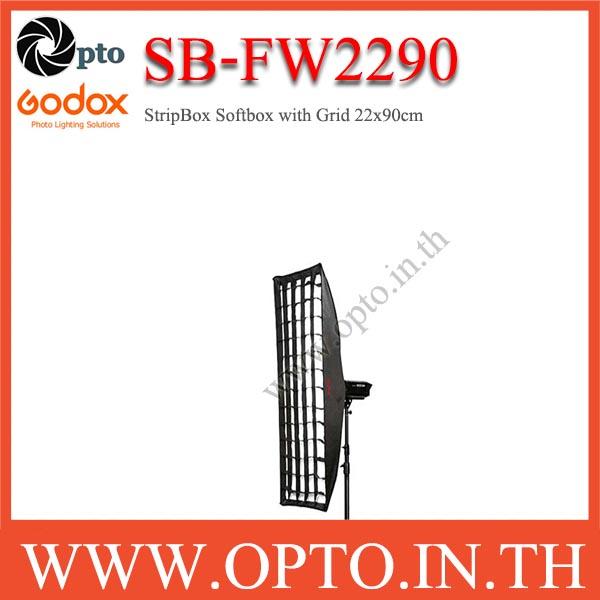 SB-FW2290 Godox Bowen\'s Mount, SoftBox With Grid, Retangular 22×90CM StripBox