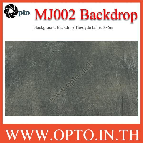 MJ002 Background Backdrop Tie-dyde fabric 3x6m. Cotton For Studio ฉากหลังเพ้นท์ลายสำหรับถ่ายภาพ