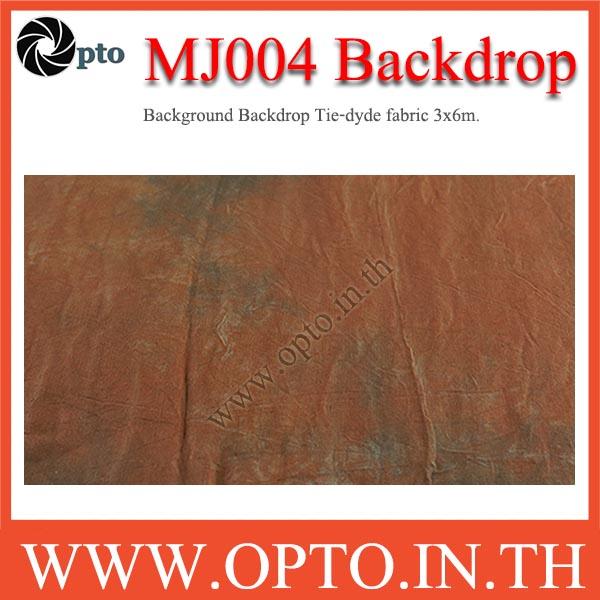 MJ004 Background Backdrop Tie-dyde fabric 3x6m. Cotton For Studio ฉากหลังเพ้นท์ลายสำหรับถ่ายภาพ