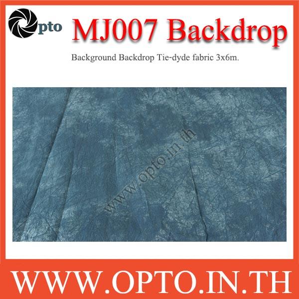 MJ007 Background Backdrop Tie-dyde fabric 3x6m. Cotton For Studio ฉากหลังเพ้นท์ลายสำหรับถ่ายภาพ