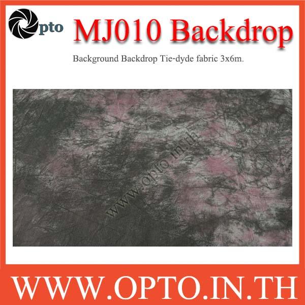 MJ010 Background Backdrop Tie-dyde fabric 3x6m. Cotton For Studio ฉากหลังเพ้นท์ลายสำหรับถ่ายภาพ