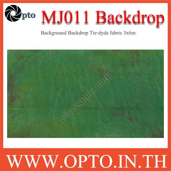 MJ011 Background Backdrop Tie-dyde fabric 3x6m. Cotton For Studio ฉากหลังเพ้นท์ลายสำหรับถ่ายภาพ