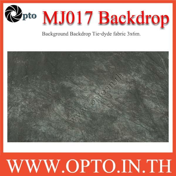 MJ017 Background Backdrop Tie-dyde fabric 3x6m. Cotton For Studio ฉากหลังเพ้นท์ลายสำหรับถ่ายภาพ