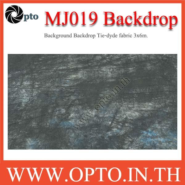 MJ019 Background Backdrop Tie-dyde fabric 3x6m. Cotton For Studio ฉากหลังเพ้นท์ลายสำหรับถ่ายภาพ