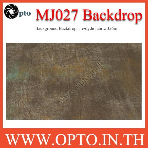 MJ027 Background Backdrop Tie-dyde fabric 3x6m. Cotton For Studio ฉากหลังเพ้นท์ลายสำหรับถ่ายภาพ