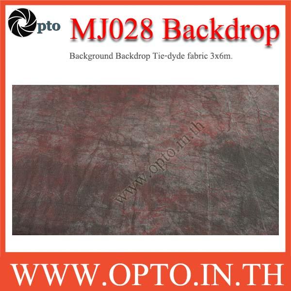 MJ028 Background Backdrop Tie-dyde fabric 3x6m. Cotton For Studio ฉากหลังเพ้นท์ลายสำหรับถ่ายภาพ