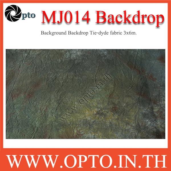 MJ014 Background Backdrop Tie-dyde fabric 3x6m. Cotton For Studio ฉากหลังเพ้นท์ลายสำหรับถ่ายภาพ