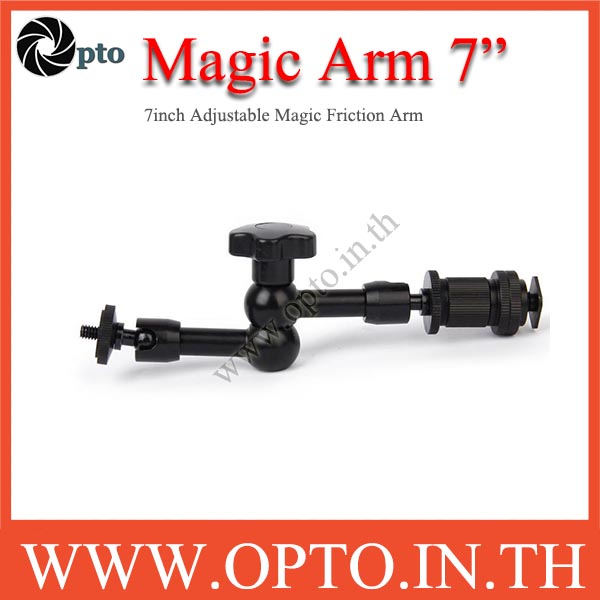 7inch Adjustable Magic Friction Arm for DSLR Rig LCD Monitor LED Flash Light