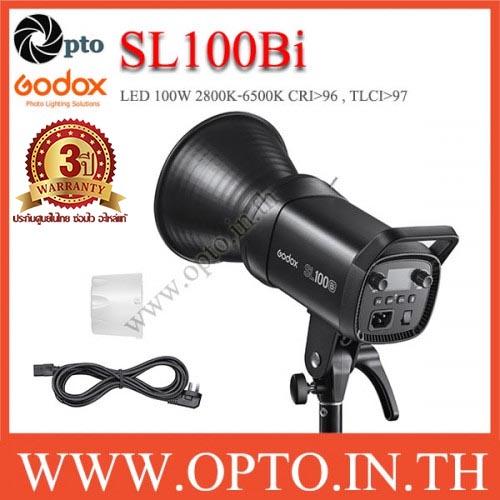 SL100Bi Godox LED Video Light Sportlight 100W 2800K-6500K Bi-Color ไฟต่อเนื่อง2สี