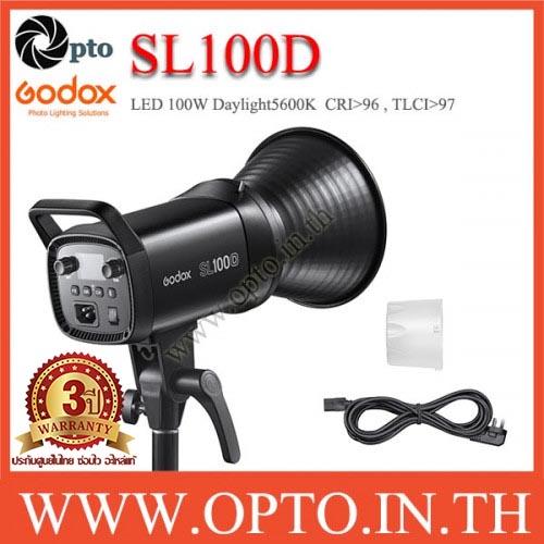 SL100D Godox LED Video Light Sportlight 100W 5600K Daylight ไฟต่อเนื่อง