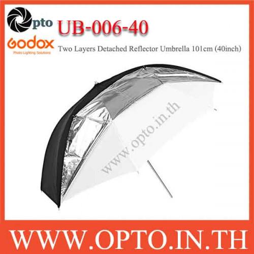 UB-006-40 Two Layers Detached Reflector Umbrella 101cm (40inch)