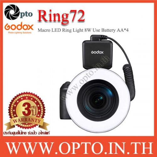 Ring72 Godox Macro LED Ring Light 8W 5600K ริงไลท์ถ่ายมาโคร