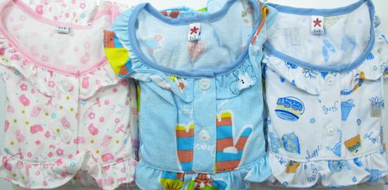 ชุดนอนเด็กหญิง ไซส์ 1-2 แขนยาว ขายาว  ผ้ายืด
