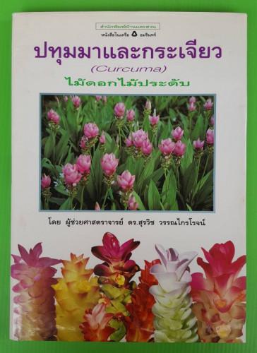 ปทุมมาและกระเจียว : ไม้ดอกไม้ประดับ โดย ผู้ช่วยศาสตราจารย์ ดร.สุรวิช วรรณไกรโรจน์