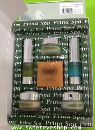 เซตหน้าใส prina spa (ชุดคอลลาเจนฟ้า)
