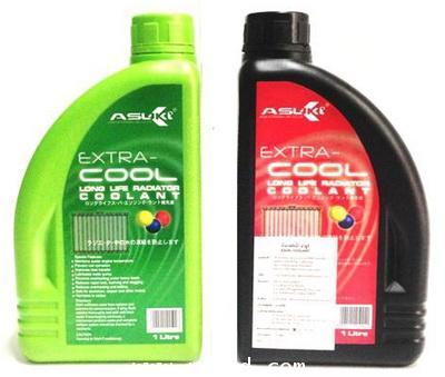 น้ำยาหม้อน้ำ ASUKI  ( น้ำยาสีเขียว และ สีชมพู )