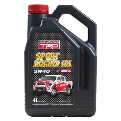 TRD Sport engine Oil 5w-40