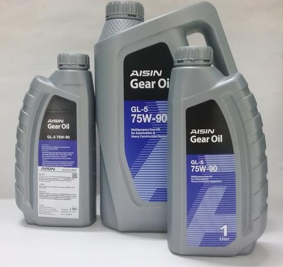 น้ำมันเกียร์และเฟืองท้าย AISIN GL-5 75w-90  5 ลิตร