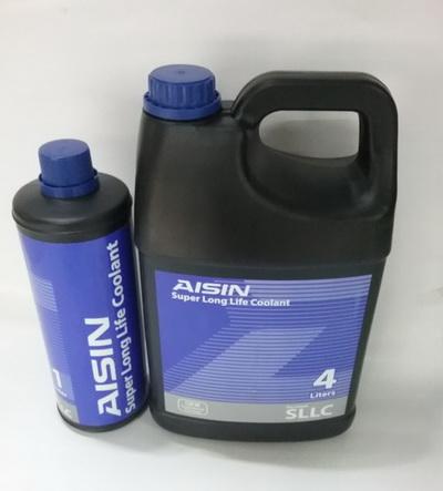 น้ำยาหม้อน้ำ AISIN สีฟ้า