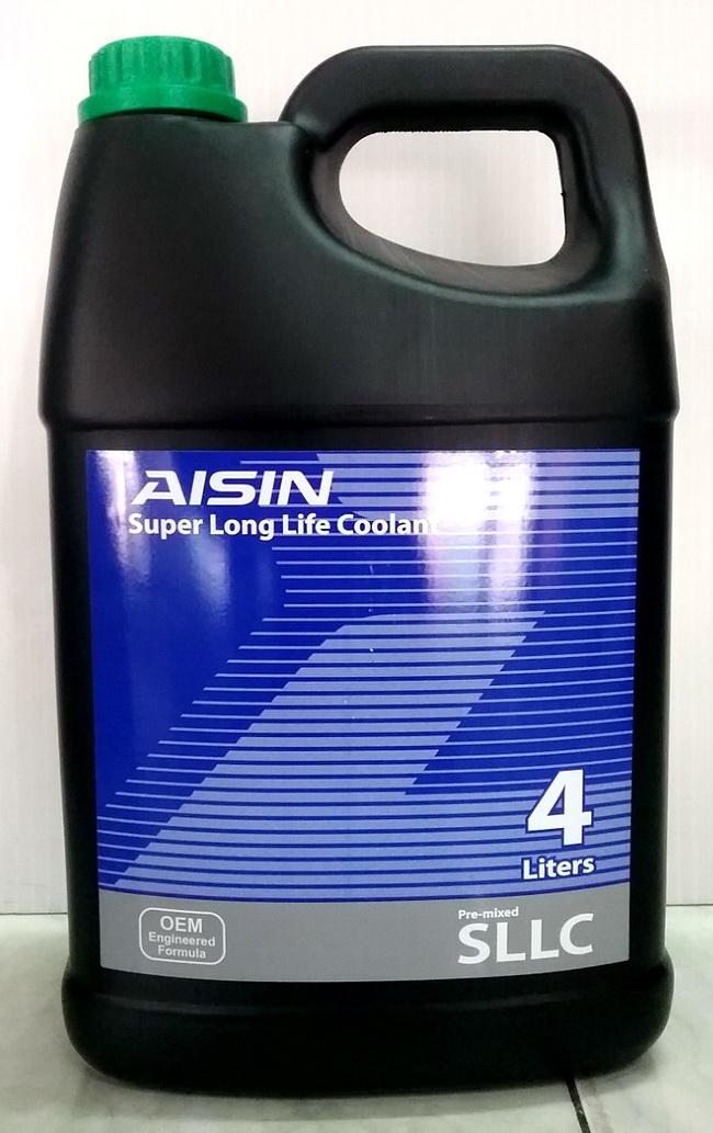 น้ำยาหม้อน้ำ AISIN สีเขียว
