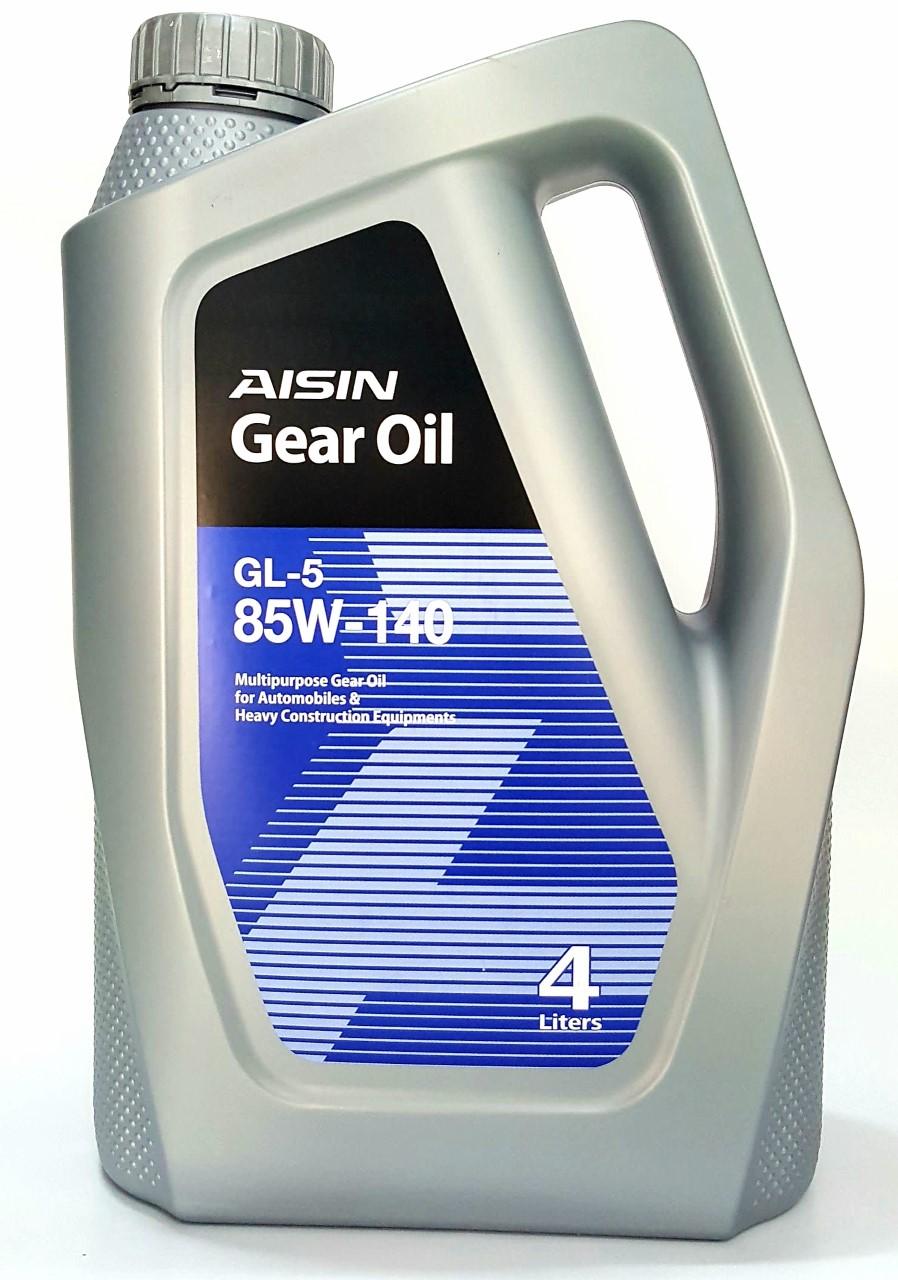 น้ำมันเฟืองท้าย AISIN GL-5 85w-140 4ลิตร
